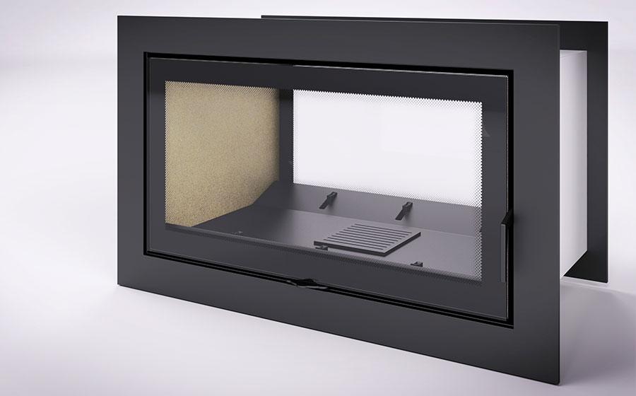 Estufa de calefacción 3D