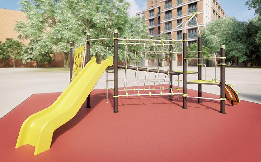 Parque infantil - zona de recreo